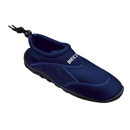 9217 BECO Schoenen, strandschoenen, aquaschoenen, surfschoenen, stand-up paddling, wattschoenen voor dames en heren, marine, maat 40