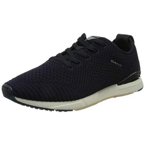 22637624 GANT Brentoon Running Low Sneakers voor heren, marineblauw, 40 EU