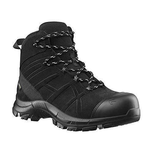 610022-4044465322143 HAIX Black Eagle Safety 53 mid Lichte, veiligheidsschoenen zonder metaal: perfect voor de reddingsdienst. 43