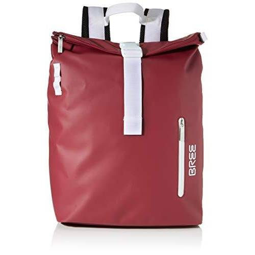 83113 BREE Unisex volwassenen Punch 713, Backpack M W19 rugzak, rood (rododendron), 15x42x34 cm