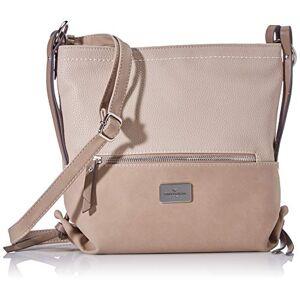 24422-23 Tom Tailor Acc dames Elin Crossbag schoudertas, beige, medium