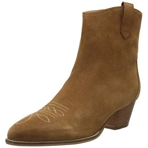 208489 Joules Elmwood Cowboy laarzen voor dames, bruin bruin bruin bruin bruin bruin, 38 EU