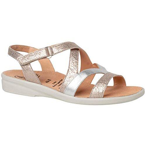 1-202839-79740 Gele Sonnica-E, klittenbandsandalen, dames sandalen