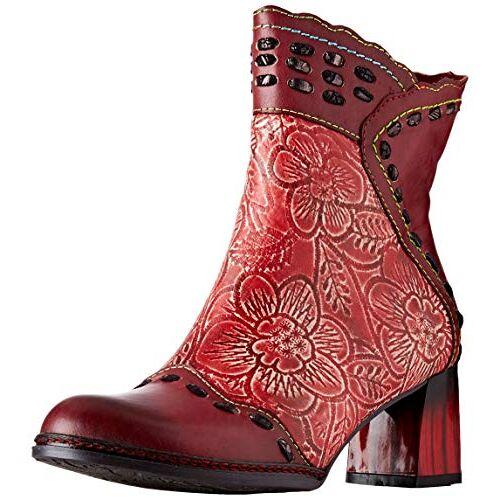 GACLAO 02 LAURA VITA  Enkellaarzen voor meisjes, rood (rouge rouge), 35 EU