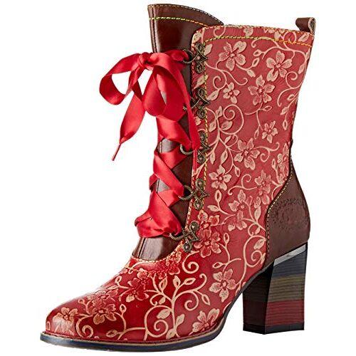 GECEKO 04 LAURA VITA  laarzen voor meisjes, rood (rouge rouge), 35 EU
