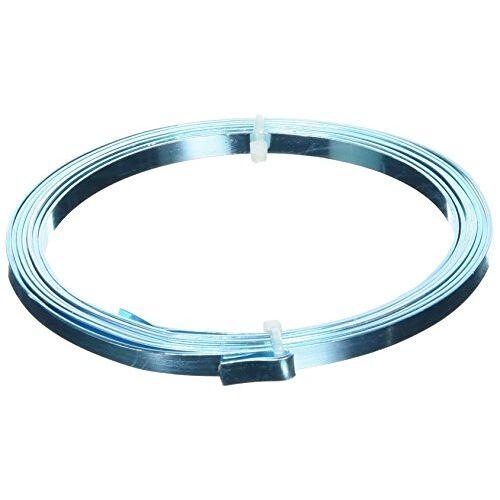 efco aluminiumdraad aluminiumdraad 1x5mm x 2m plat, lichtblauw
