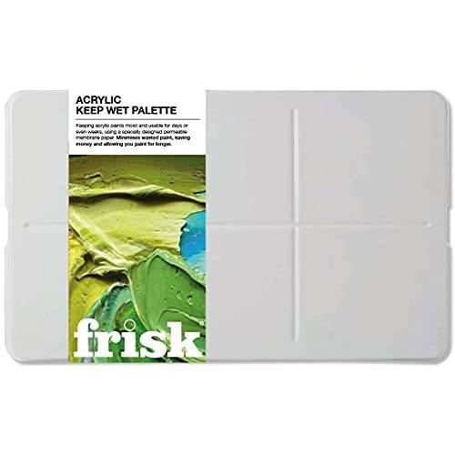 Frisk Acryl keep-wet palet