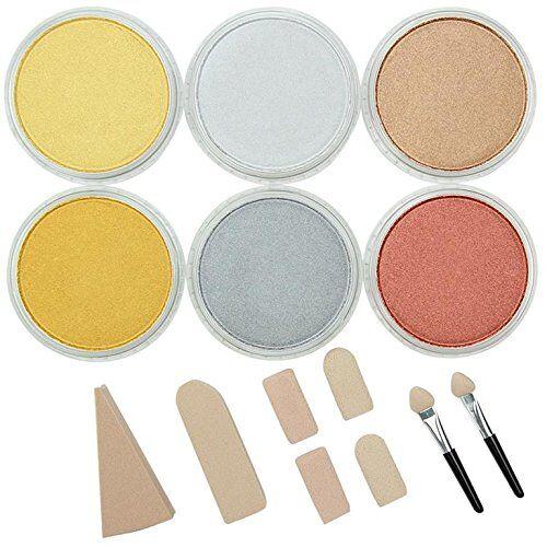 Colorfin LLC PanPastel pastelkleuren, metallic, set van 6