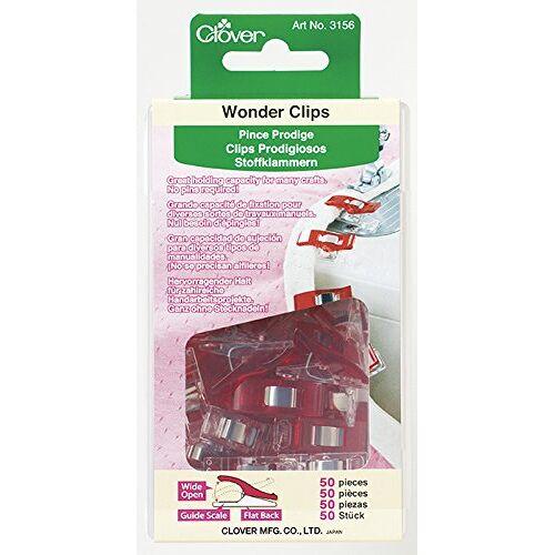 Clover Stoffen clip, rood, door de Yard