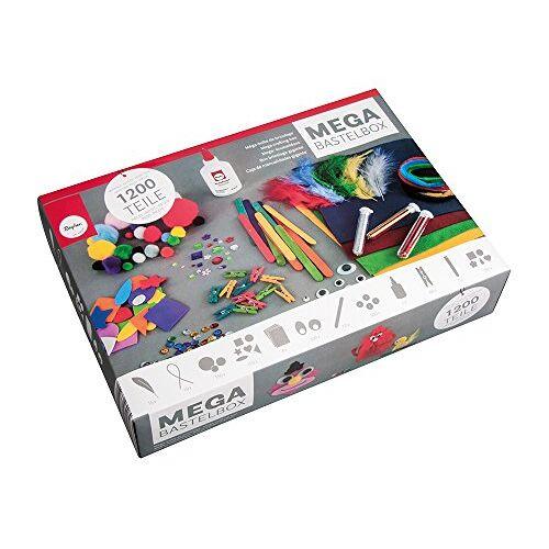 Rayher 69082000 Basic knutselset, 1200 delen, multicolor