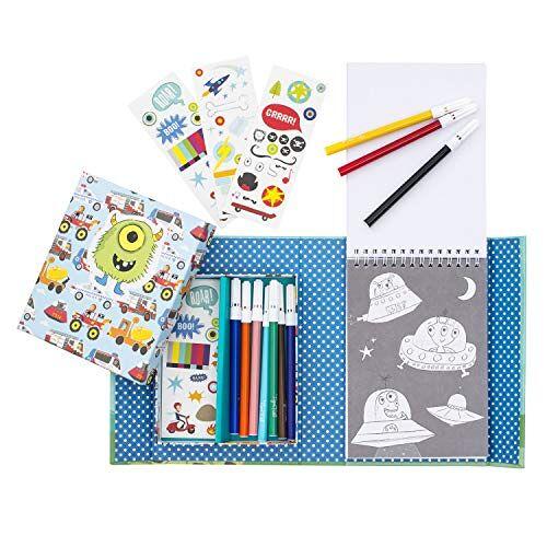 Tiger Tribe 60207 kleurset, jongens favorieten kunst en ambachten kit