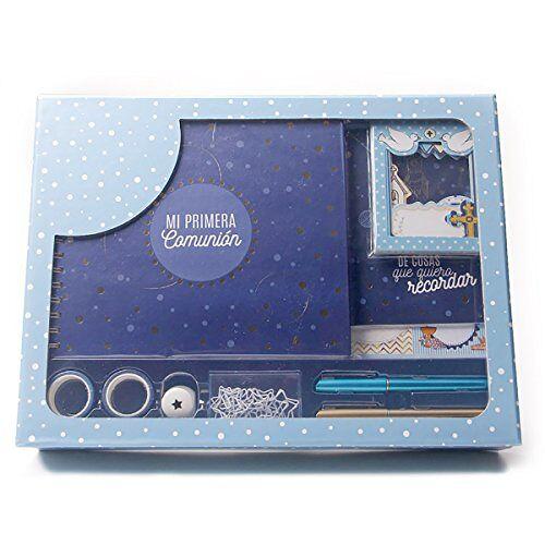 Grupo Erik Editores Gift Communie Kind Original, karton, blauw, 30 x 40 x 8 cm