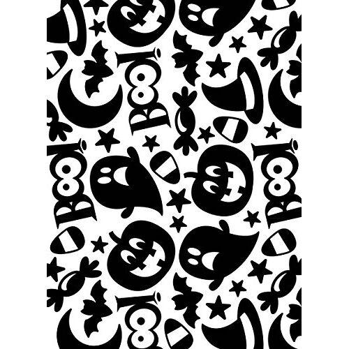 Darice Halloween Collage Embossing Template voor spookpapier ambachten