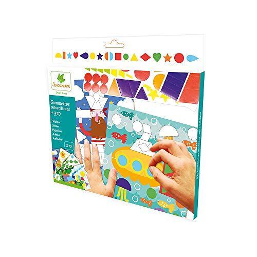 Sycomore Sycomor Ambachten – Multicolor Sticker Picture Craft