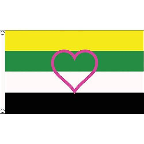 AZ FLAG LGBT Skolioseksualiteit vlag 150x90cm Skolioseksuele trots vlag 90 x 150 cm Vlaggen AZ VLAG