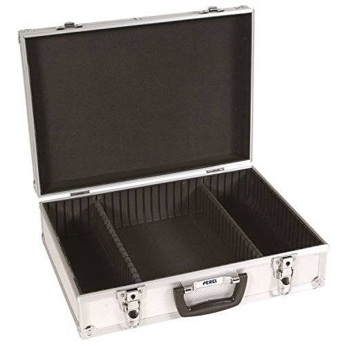 Perel 1819 Gereedschapskoffer van aluminium