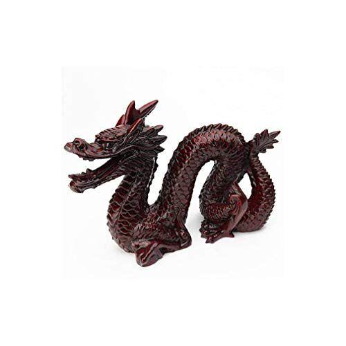 lachineuse Grote Aziatische draak – Feng Shui kracht en bescherming – Aziatische decoratie