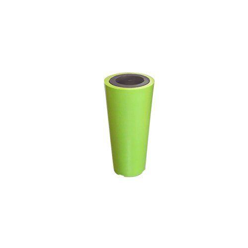 Green City Up XXS Bloemenstandaard, PVC, met ring, Anijsgroen/Antraciet