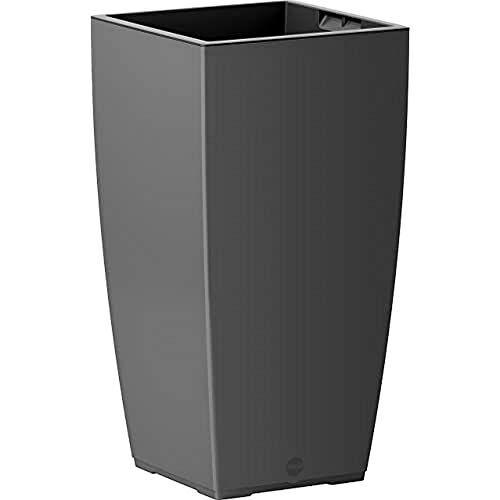 Emsa Bloemenzuil voor binnen en buiten, zelfbewaterend systeem, 58 cm, graniet, casa mat, 517580