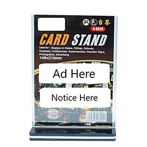 Polmart 3-delig Tafelblad Kaartdisplaystandaard, Medium