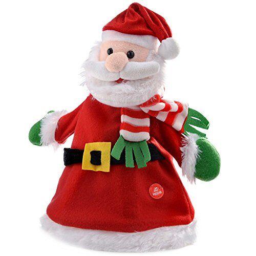 WeRChristmas Novelty Dansende Zweven en Zingen Kerstboom Hoed