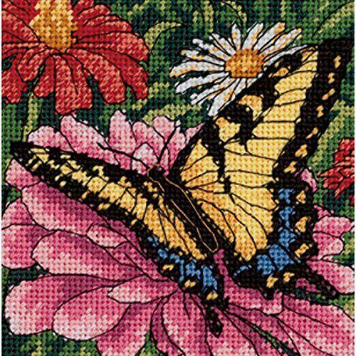 DIMENSIONS Vlinder OP Zinnia, Multi-Colour, Handwerken