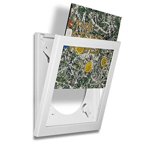 PLAY AND DISPLAY Album Record Frame, Wit, Individueel