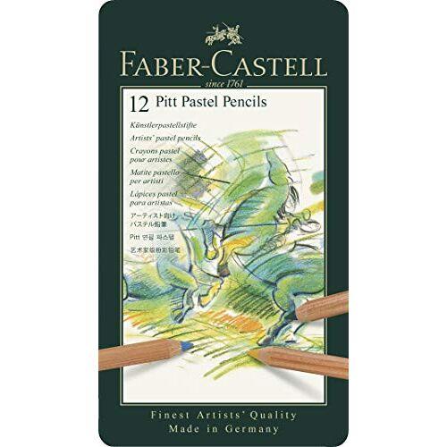 Faber-Castell PITT Pastel Potloden Tin van 12