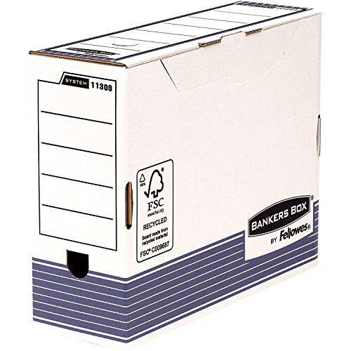 BANKERS BOX 1130902 archiefdoos 10 stuks, 100 mm, A4