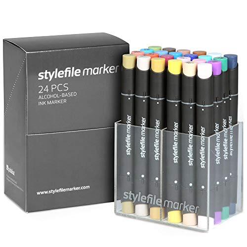 Stylefile Marker Main B, set van 24, niet van toepassing
