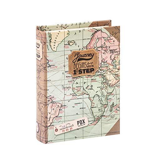 LEGAMI Bindingen Once Upon A Time container boeken, karton, 8,3 x 2,8 x 11 cm 8,3 x 2,8 x 11 cm groen