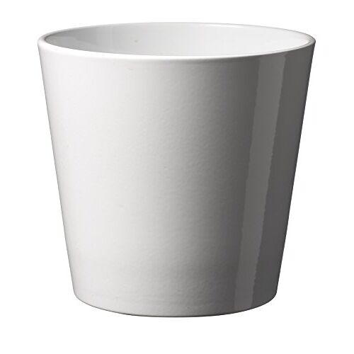 Soendgen Keramik Soendgen keramiek bloempot, Dallas Style 19 x 19 x 18 cm wit