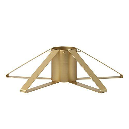Ferm Living Kerstboomstandaard, metaal, goud, 50 x 50 x 13 cm