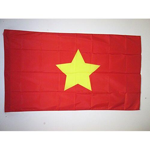AZ FLAG Viet Minh 1945-1955 Vlag 150x90 cm voor een paal Liga voor de Onafhankelijkheid van Vietnam vlaggen 90 x 150 cm Banner 3x5 ft met gat