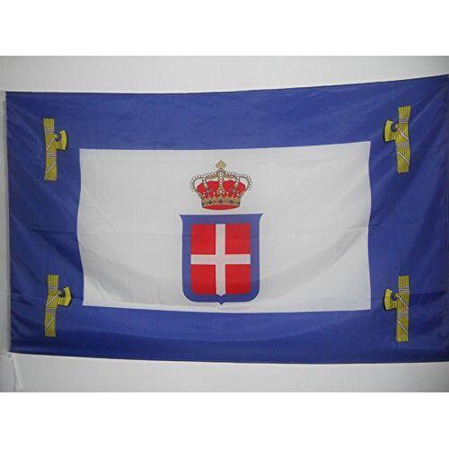 AZ FLAG Italiaanse Oost-Afrikaanse vlag 90x60 cm voor een paal Italië Italiaanse kolonie vlaggen 60 x 90 cm Banier 2x3 ft met gat