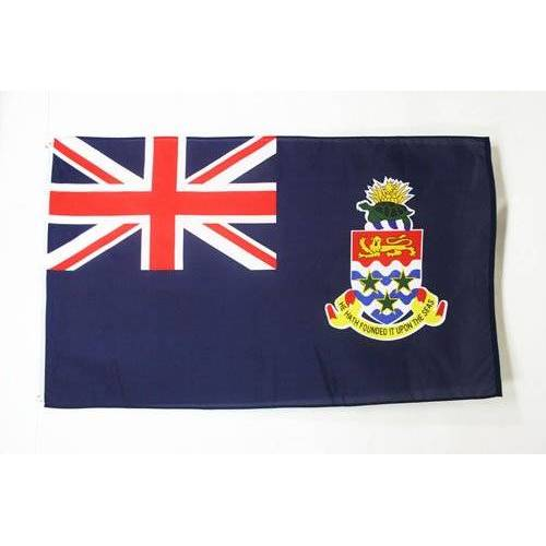 AZ FLAG Kaaimaneilanden Vlag 150x90 cm Kaaimaneilanden Vlag 90 x 150 cm Banier 3x5 ft Hoge kwaliteit