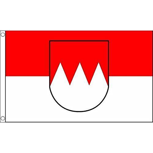 AZ FLAG Frankenvlag 150x90 cm Beierse Beierse vlaggen 90 x 150 cm Banner 3x5 ft Hoge kwaliteit