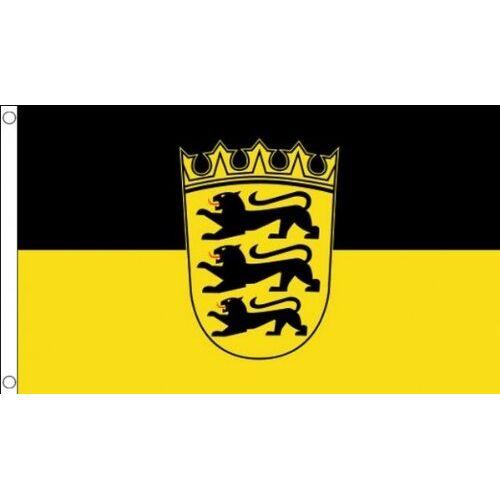 AZ FLAG Baden-Wurtembergse vlag 150x90 cm Duitsland Duitse regio Baden-Wurtembergse vlaggen 90 x 150 cm Banner 3x5 ft Hoge kwaliteit