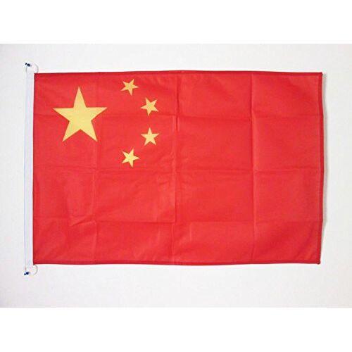 AZ FLAG China Vlag 90x60 cm voor buiten Chinese vlaggen 90 x 60 cm Banner 2x3 ft Gebreid Polyester met ringen