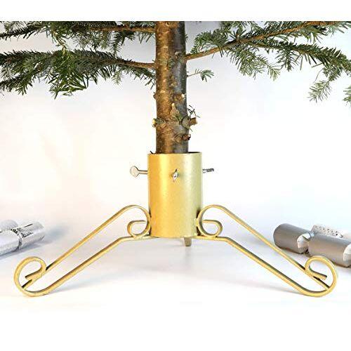 """Bosmere G453 4"""" kerstboom standaard glans, goud"""