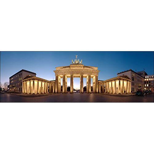 ART Pro-Art g1583m muurschildering Giclee 'Brandenburg bei Nacht' 120 x 40 cm