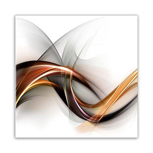 STYLER GL020 glazen afbeelding, glas, wit, 0,4 x 30 x 30 cm
