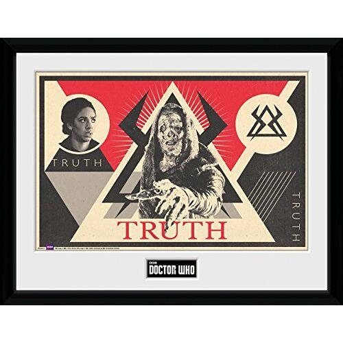 GB eye Ltd , Doctor Who, Monk, Ingelijste Poster 30x40cm, Hout, Diverse, 52 x 44 x 3 cm