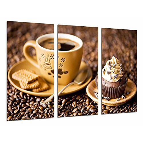 Cuadros Cámara Foto's camera foto kopje koffie cupcake koffie koffie 97 x 62 cm XXL