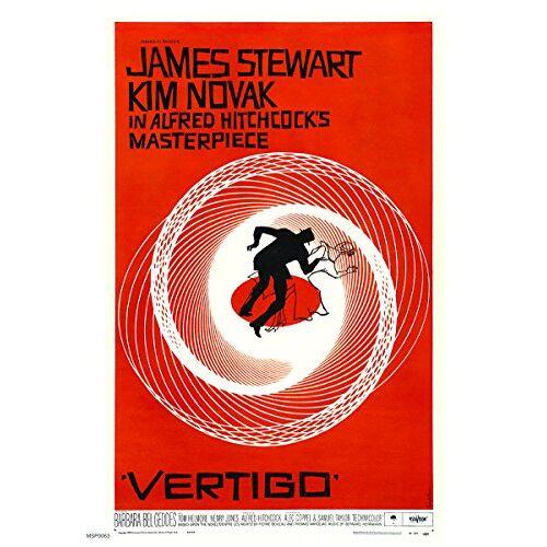onthewall Vertigo Alfred Hitchcok Film Film 30x40cm Poster Art Print