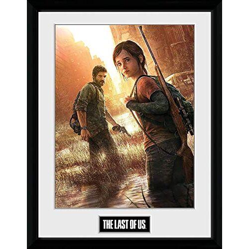 GB eye The Last Of Us Key Art 30 x 40 cm ingelijste print