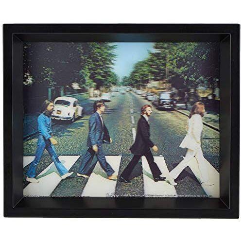 The Beatles afdrukken, meerkleurig, 10 x 8 inch