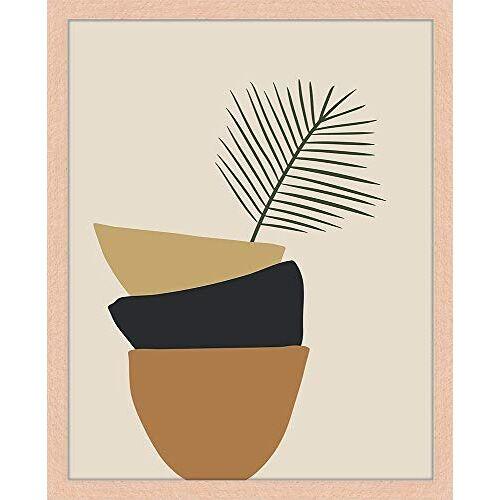 Liv Corday Frame + afdrukken, meerkleurig, medium