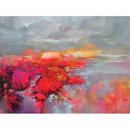 Scott Moleculaire bindingen 2 60 x 80 cm canvas print, katoenmix, meerkleurig, 60 x 80 x 3,2 cm