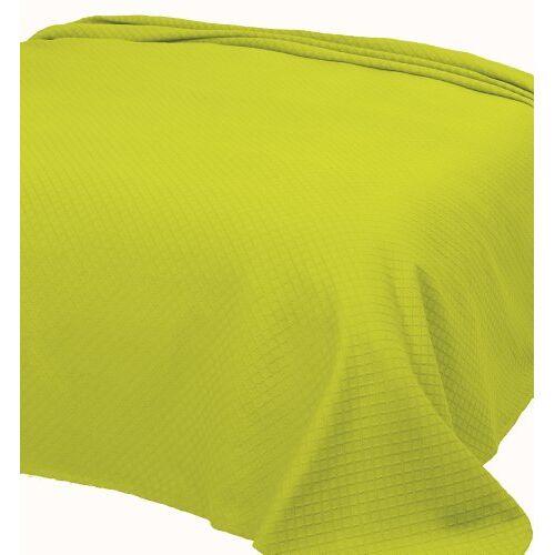 Pure 253 Individueel dekbed van piquee, 180x260 cm, col. groen